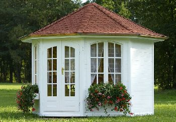 gartenhaus oder pavillon. Black Bedroom Furniture Sets. Home Design Ideas